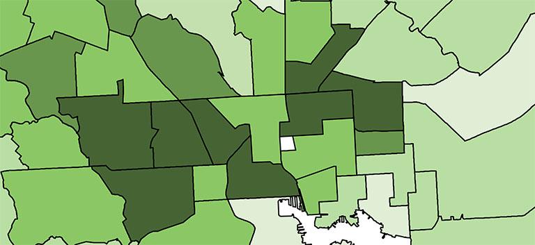 Baltimore City Open Land Data