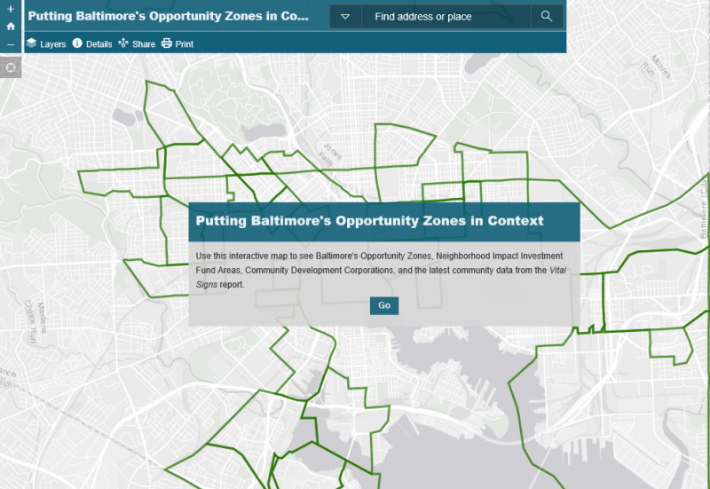 Putting Baltimore's Opportunity Zones in Context